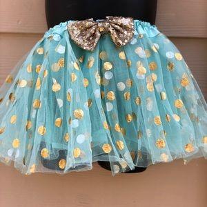 Other - Girls Tiffany blue polka dot TUTU